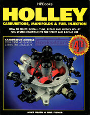 HOLLEY CARBURETORS BOOK HP HOW TO MANUAL REPAIR SHOP SERVICE ADJUST FISHER URICH