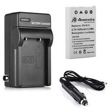 EN-EL5 Battery + Charger For Nikon Coolpix P510 P5100 P520 P3 3700 4200 5200 590