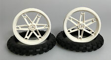 LEGO® Neuware Technic 2x Motorrad Räder 81,6 x 15 2903c01 3804 9747 9719 8291
