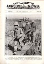 1916 London News October 21 - Cameroon now under French rule;Zeppelins come down