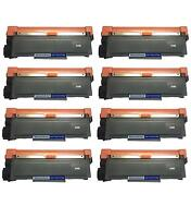 8 PK NON-OEM TONER CARTRIDGE BROTHER TN-660 MFC-L2720DW MFC-L2740DW HL-L2380DW