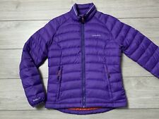 Women's CRAGHOPPERS DOWNLITE Puffer Down Jacket Size UK 10 | Purple [w/ defects]