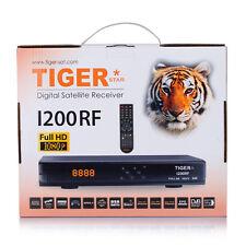 Full HD Satellite Set Top Receiver Box Tiger Star I200RF DVB - S2 Media Player
