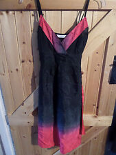"""Pretty Pink  Black Party Dress Special Occasion Dress Size 10 Chest 34"""" New Look"""