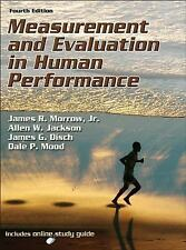Measurement and Evaluation in Human Performance With Web Study Guide-4th Editio