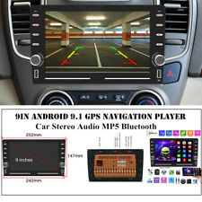 """9""""2.5D HD Universal Car MP5 Android 9.1 GPS Player Audio Bluetooth Touch Screen"""