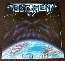TESTAMENT SPEED  METAL BAND RECORD STORE ALBUM SLICK/POSTER DISPLAY AD