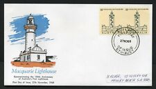 Australia 1968 Lighthouse pair - Fdc