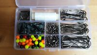 276 piece sea fishing rig making kit with storage box