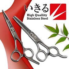 Professional Hairdressing Barber Hair Cutting Razor Scissors Thinner Shears SET