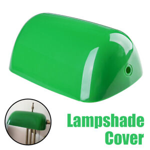 Plastic Vintage Green Desk Bank Banker Lamp Shade Cover Replace Lampshade Gift