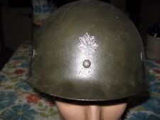 WWII  29th Infantry Division Coast Artillery Regiment US Army Helmet Liner
