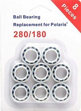 New listing Atie 8 Pack Wheel Bearings Replacement for Polaris 180/280 Pool of 8