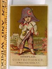 Hoefler Confectioner Child French Napoleon Costume Smoking Pipe Sword F38