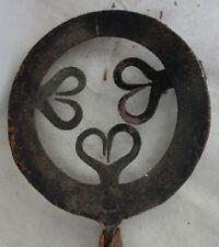 antiker Pfannenhalter Pfannen Untersetzer Eisen geschmiedet