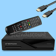 Dreambox DM520 Receptor de satélite Linux e2 dvb-s2 HDTV TV IP 2xusb LAN PVR