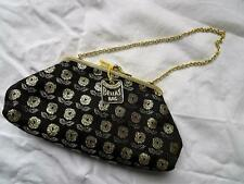 Vintage 1950s Bella's Evening BAG  Black/Gold/Silver  Deadstock Made Eng.  333 G