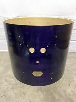 """Pearl Export Bass Drum Shell 22""""x18"""" Bare Wood Project / Upcycle"""