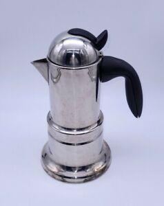 Vev Vigano Moka Coffee Pot Stove Top Espresso Maker Made in Italy
