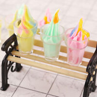 1:12 Dollhouse Miniature Ice Cream Cups Dolls Kitchen Food AccessoriesJ Dz