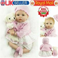22 inch Realistic Reborn Baby Dolls Lifelike Newborn Baby Girl Doll Xmas Gifts