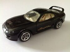 #44 Matchbox JDM TOYOTA SUPRA A80 4th GEN 1994 casting BLACK UNUSED adult-owned