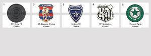 Metal Pin Greece Football Clubs European Soccer Part 2