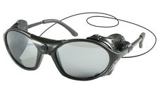 NEW Black Glacier Ski Snow Aviator Flight Motorcycle Wind Guard Sunglasses UV400