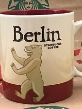 NEW AUTHENTIC Starbucks BERLIN Germany v1 Icon 16 oz mug DISCONTINUED!