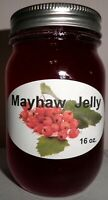 Fresh MAYHAW JELLY Pint (16 oz.), Organic, No Chemicals, FREE SHIPPING