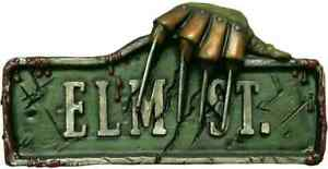 Nightmare on Elm Street Plastic Molded Sign Halloween Party Wall Decoration