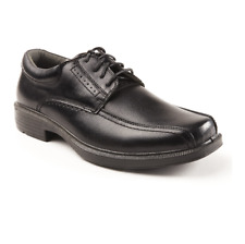 Deerstags WILLIAMSBURG Mens Black vega Leather Casual Dress Lace Up Shoes