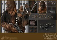 "STAR WARS: EPISODE IV - CHEWBACCA 1/6 Action Figure 12"" HOT TOYS"