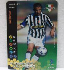 FOOTBALL CHAMPIONS Italiano 2003-04 - ALESSANDRO DEL PIERO - 36/100 JUVENTUS