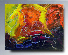 Ölbild signiertes Gemälde Ölgemälde Astrato oil painting pintura Richard Toveen