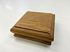 Oak Pyramid Newel Cap For Staircase  91mm x 91mm