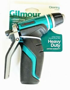 Gilmour Heavy Duty Cleaning Rear Trigger Garden Hose Spray Nozzle 841012-1001