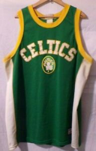 Boston Celtics Hardwood Classic Majestic Sewn Jersey Retro Throwback Size XL