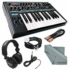 Novation Bass Station II Monophonic Analog Synthesizer and Bundle