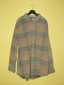 ORVIS Mens Long Sleeved Shirt 100% Cotton Size XL