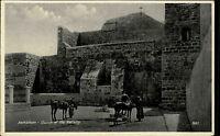 BETHLEHEM Church of Nativity Postcard um 1930 Westjordanland Geburtskirche