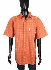*Columbia Mens Shirt Short Sleeve Checks Regular XL