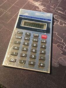 SHARP EL-838 Electronic Calculator - New batteries installed.
