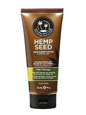 Earthly Body Hemp Seed Hand & Body Lotion 207mL Nag Champa