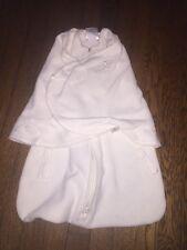 HALO SLEEPSACK NB Newborn Swaddle fleece WEARABLE BLANKET off white