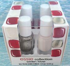 essie WINTER 4-pc MINI CUBE Nail Polish Gift Set ~ JIGGLE TUCK JUMP DOUBLE *NIB