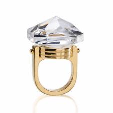 Art Deco Gold Crystal Glass