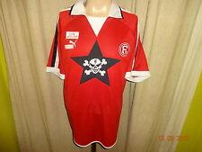 """Fortuna düsseldorf original Puma hogar camiseta 2003/04 """"los muertos pantalones"""" talla XL"""