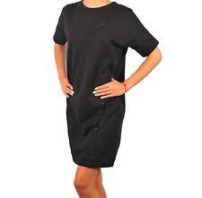 WOMENS NIKE TECH FLEECE DRESS SIZE S (803573 010) BLACK