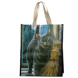 Reusable Shopping Bag Lisa Parker A Brush with Magick Cats Wiccan Pagan design